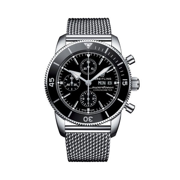 BREITLING SUPEROCEAN HERITAGE CHRONOGRAPH 44MM MEN'S WATCH REF. A13313121B1A1