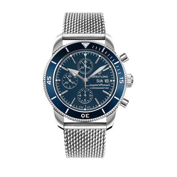 BREILTING SUPEROCEAN HERITAGE CHRONOGRAPH 44MM MEN'S WATCH REF. A13313161C1A1