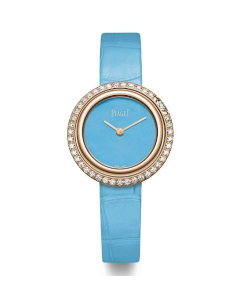 Piaget Pre-owned Limelight Gala 29mm Quartz RG Turqouise Dial Women's Watch