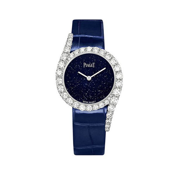 PIAGET LIMELIGHT GALA 32MM BLUE ADVENTURINE DIAL LIMITED TO 200 PCS WOMEN'S WATCH REF. G0A45180