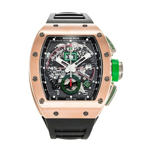 RICHARD MILLE ROSE GOLD MEN'S WATCH REF. RM 011