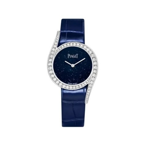 PIAGET LIMELIGHT GALA BLUE ADVENTURINE DIAL LIMITED EDITION 300 PCS WOMEN'S WATCH REF. G0A45152
