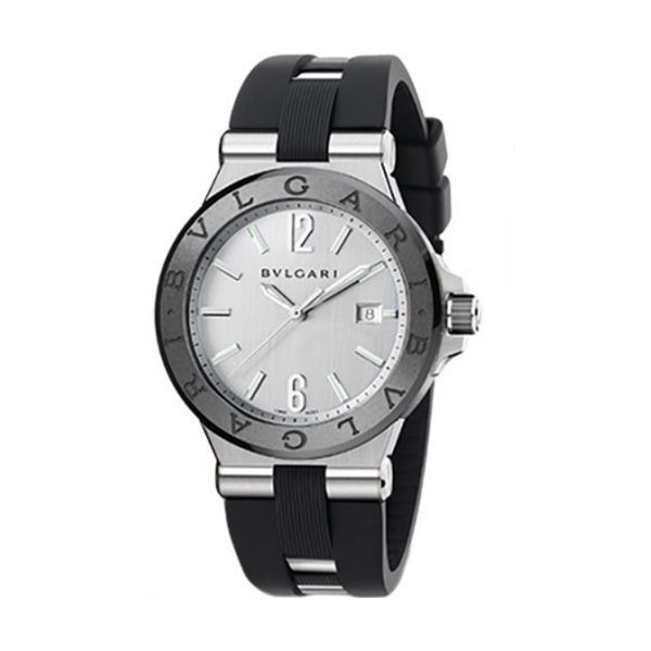 BVLGARI DIAGONO AUTOMATIC 42MM MEN'S WATCH REF. 102252 DG42C6SCVD