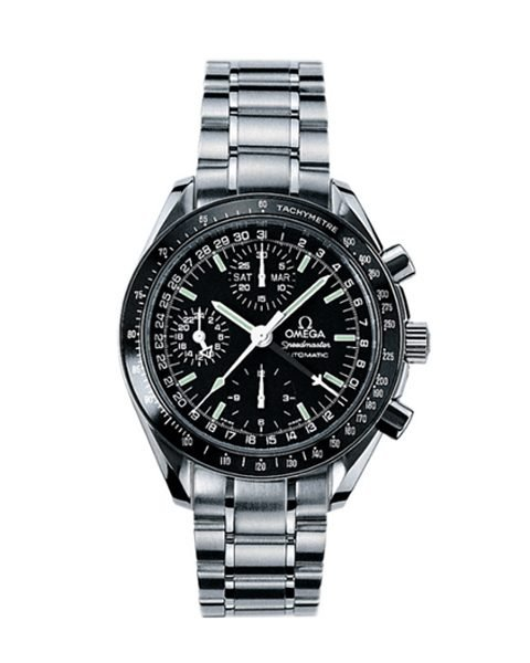 OMEGA SPEEDMASTER DAY DATE 40 STAINLESS STEEL MEN'S WATCH REF. 3520.50.00