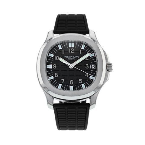 Patek Philippe Pre-Owned Aquanaut Automatic Steel Men's Watch Ref. 5065A-001