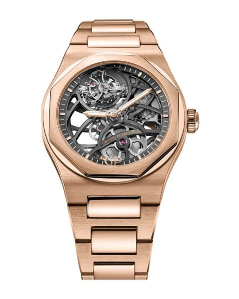 GIRARD-PERREGAUX LAUREATO FLYING TOURBILLON SKELETON MEN'S WATCH REF. 99110-52-000-52A