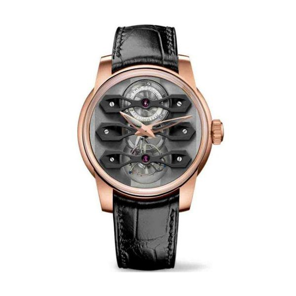 GIRARD PERREGAUX THREE BRIDGES NEO-TOURBILLON MEN'S WATCH REF. 99270-52-000-BA6A