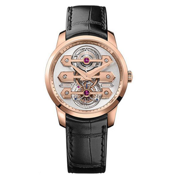 GIRARD PERREGAUX TOURBILLON THREE GOLD BRIDGES 40MM MEN'S WATCH REF. 99285-52-000-BA6A