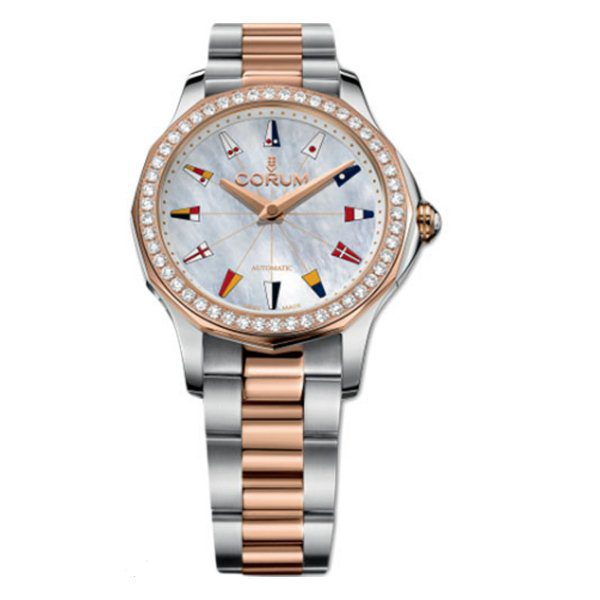 CORUM ADMIRASL'S CUP LEGEND 32MM LADIES WATCH REF. A400/02902