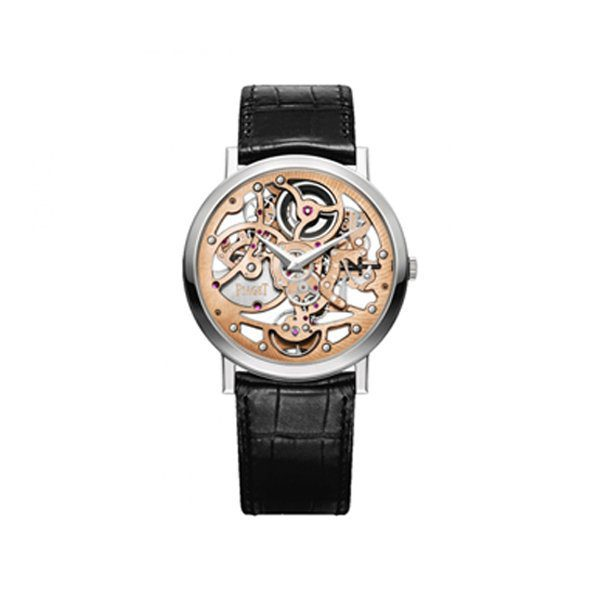 PIAGET ALTIPLANO AUTOMATIC SKELETON DIAL 38MM MEN'S WATCH REF. G0A39133