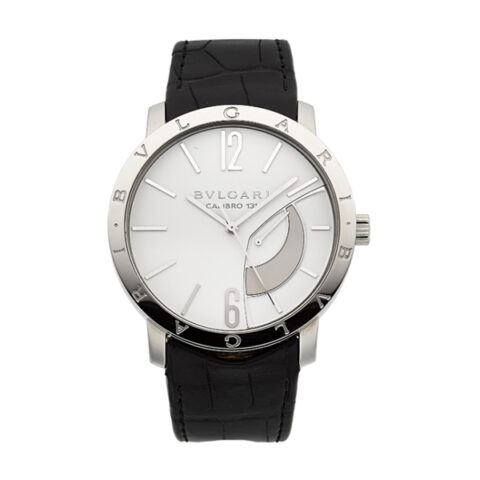 BVLGARI CALIBRO 131 WHITE DIAL MEN'S WATCH REF. 101870