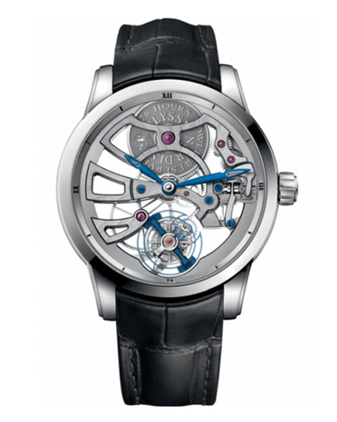 ULYSSE NARDIN CLASSIC TOURBILLON MANUAL WINDING FLYING TOURBILLON MEN'S WATCH REF. 1700-129
