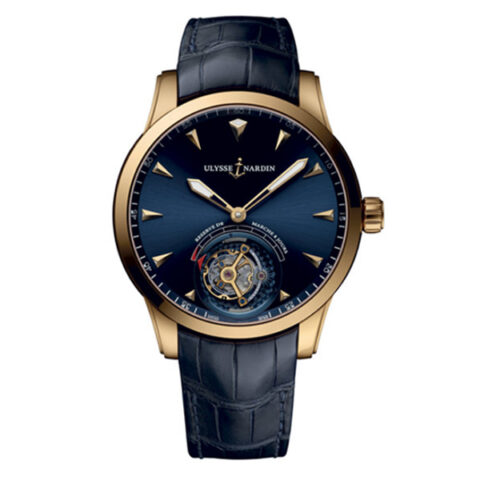 ULYSSE NARDIN CLASSIC ULYSSE ANCHOR TOURBILLON MEN'S WATCH REF. 1782-133/93