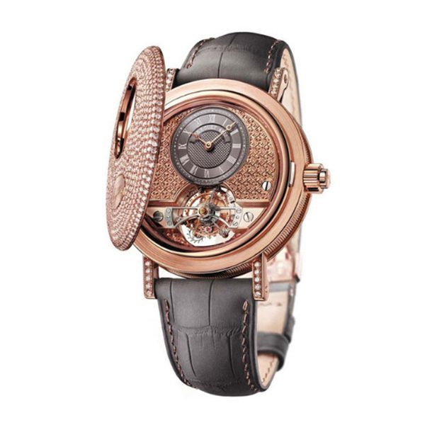 BREGUET TOURBILLON MESSIDOR 18K ROSE GOLD & DIAMOND MEN'S WATCH REF. 1808BR/92/9W6 DD00