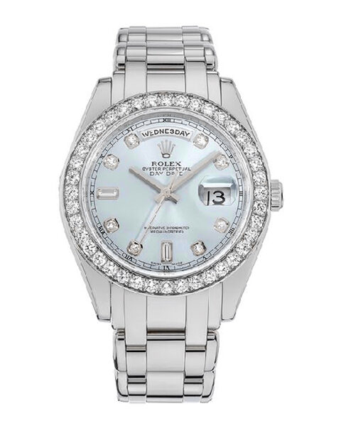 ROLEX OYSTER PERPETUAL PEARLMASTER DAY-DATE LADIES WATCH REF. 18946