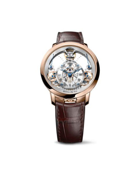 ARNOLD & SON TIME PYRAMID MEN'S WATCH REF. 1TPAR.S01A.C125A