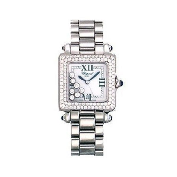 CHOPARD HAPPY SPORT  6 FLOATING DIAMONDS LADIES WATCH REF. 27/8358-23