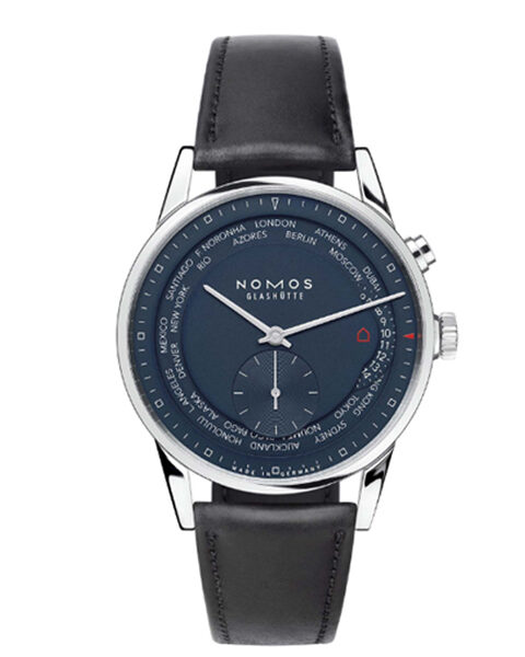 NOMOS GLASHUTTE ZURICH WELTZEIT 40MM MEN'S WATCH REF. 39.9MM807