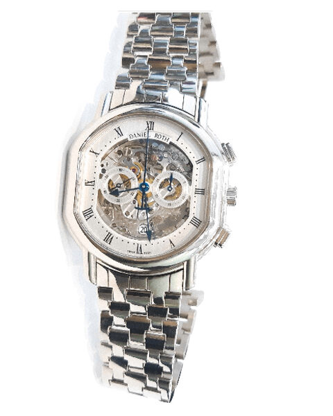 DANIEL ROTH ACADEMIE SKELETON CHRONOGRAPH MEN'S WATCH REF. 447.X.60