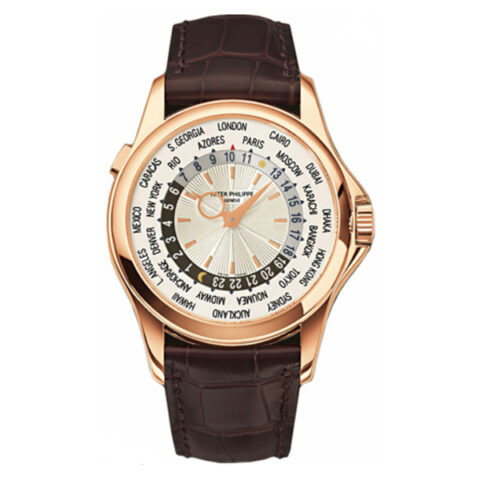 PATEK PHILIPPE COMPLICATIONS WORLD TIME MEN'S WATCH REF. 5130R-001