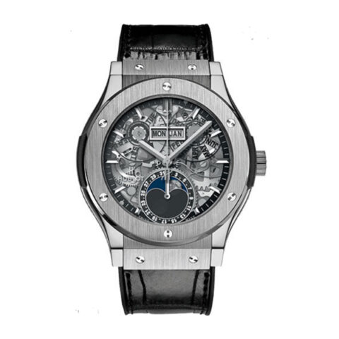 Hublot Pre-Owned Classic Fusion Aerofusion Moonphase 42mm Men's Watch