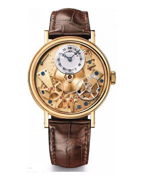 BREGUET TRADITION AUTOMATIC YELLOW GOLD UNISEX WATCH REF. 7037BA/11/9V6