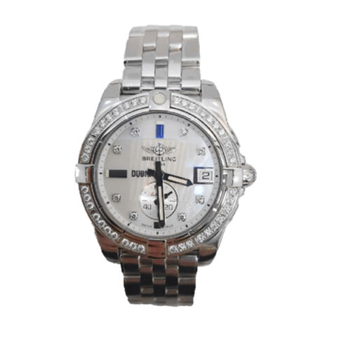 BREITLING GALACTIC DIAMOND MOTHER OF PEARL DUBAI DIAL LADIES WATCH REF. A3733053/A781