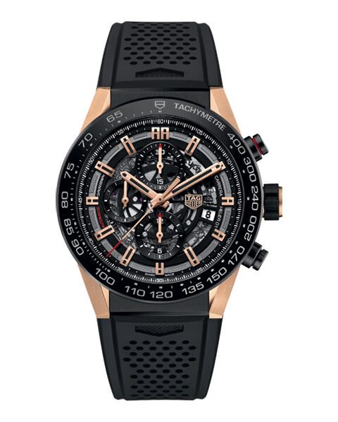 TAG HEUER CARRERA CALIBRE HEUER 01 CHRONOGRAPH AUTOMATIC MEN'S WATCH REF. CAR2A5A.FT6044