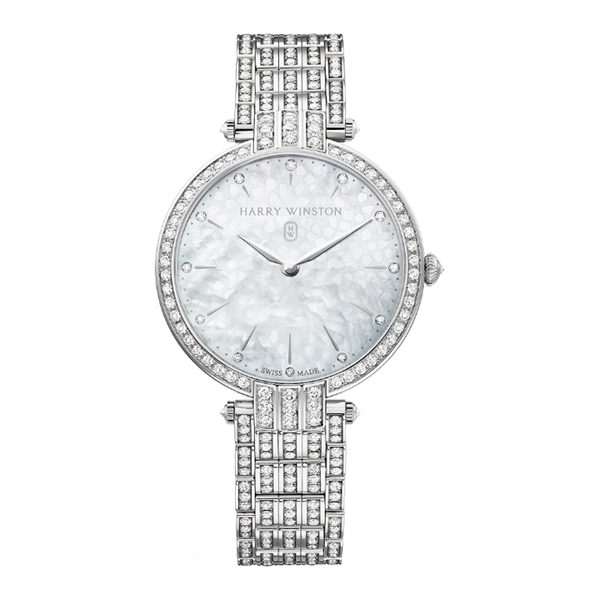 HARRY WINSTON PREMIER LADIES QUARTZ 36MM LADIES WATCH REF. PRNQHM36WW003