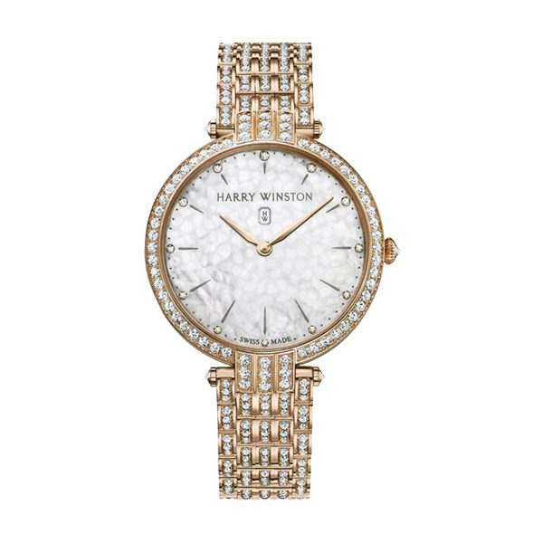 HARRY WINSTON PREMIER LADIES QUARTZ 39MM LADIES WATCH REF. PRNQHM39RR003