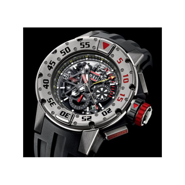 RICHARD MILLE AUTOMATIC TITANIUM ROUND MEN'S WATCH REF. RM 032