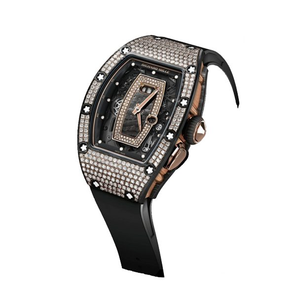 RICHARD MILLE AUTOMATIC CERAMIC DIAMONDS LADIES WATCH REF. RM 037