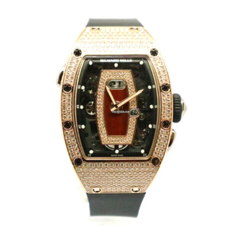 RICHARD MILLE AUTOMATIC ROSE GOLD LADIES WATCH REF. RM 07-01