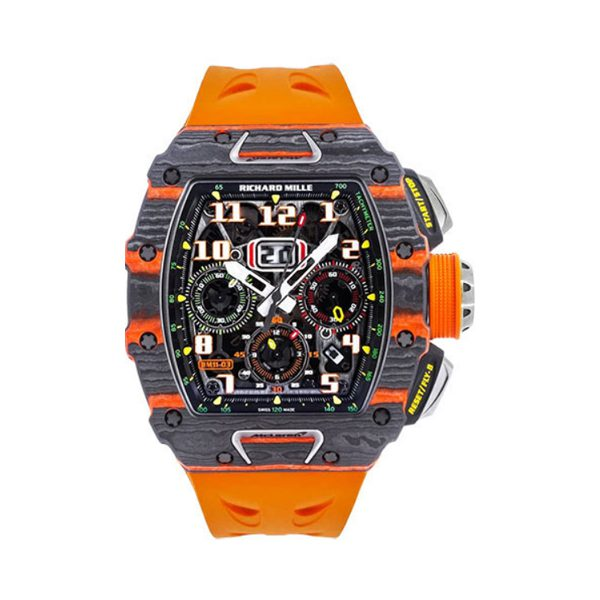 RICHARD MILLE AUTOMATIC WINDING FLYBACK CHRONOGRAPH MCLAREN MEN'S WATCH REF. RM 11-03