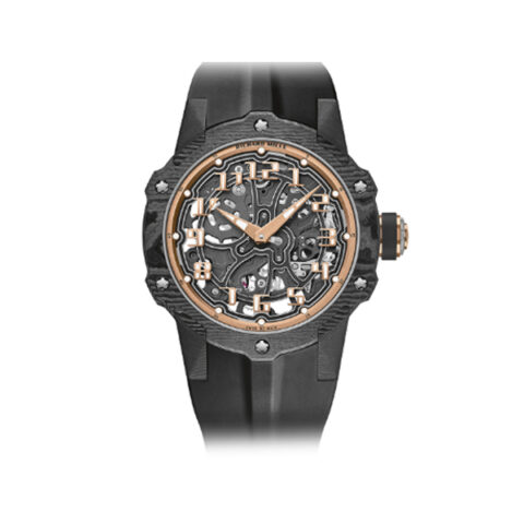 RICHARD MILLE AUTOMATIC CARBON ULTRA THIN LIMITED TO 140 PCS MEN'S WATCH REF. RM 3-02
