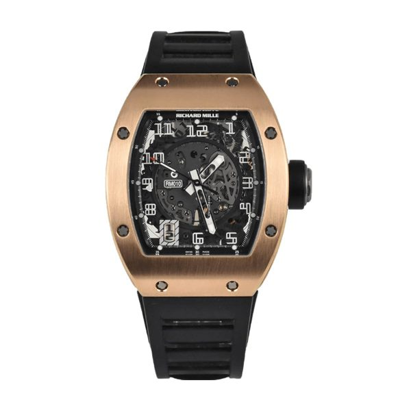 RICHARD MILLE ROSE GOLD AUTOMATIC MEN'S WATCH REF. RM010