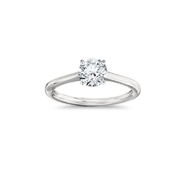 SOLITAIRE 18K WHITE GOLD