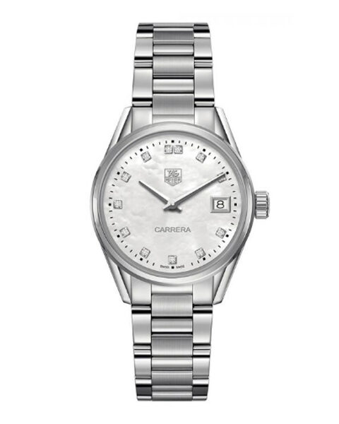 TAG HEUER CARRERA QUARTZ LADIES WATCH REF. WAR1314.BA0778