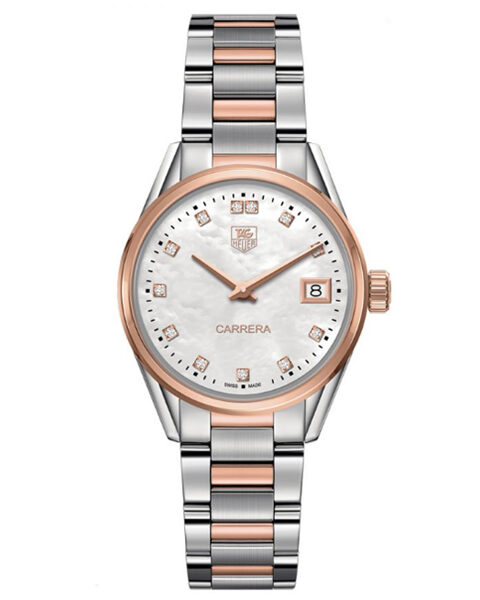 TAG HEUER CARRERA QUARTZ LADIES WATCH REF. WAR1352.0723