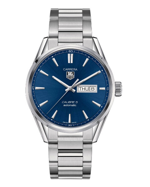 TAG HEUER CARRERA 41MM BLUE DIAL MEN'S WATCH REF. WAR201E.BA0723