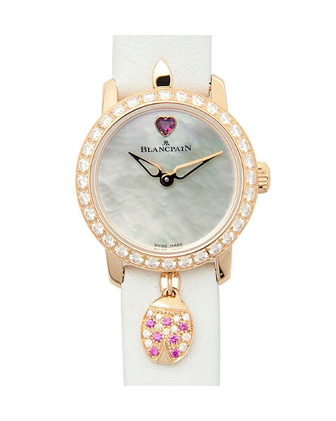 BLANCPAIN LADYBIRD ULTRA PLATE AUTOMATIC LADIES WATCH REF. 0063D-2954-63A