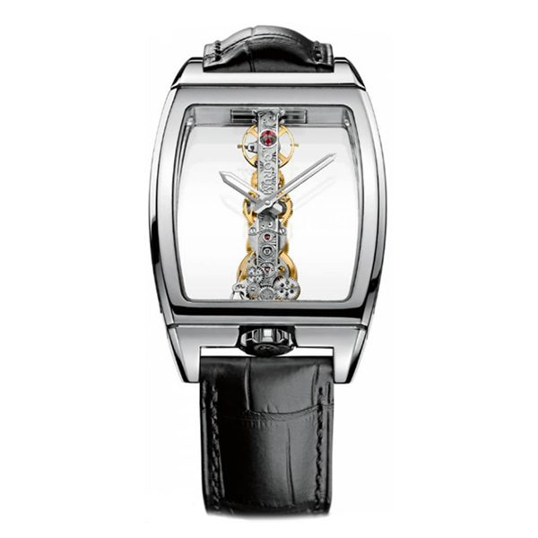 CORUM GOLDEN BRIDGE AUTOMATIC WHITE GOLD MEN'S WATCH REF. 113.160.59/0001