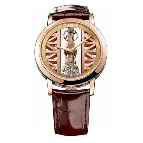 CORUM GOLDEN BRIDGE ROUND MEN'S WATCH REF. 113.900.55/0F02 GG55R