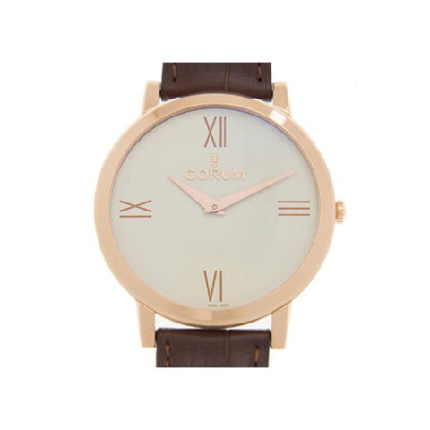 CORUM HERITAGE 18K ROSE GOLD UNISEX WATCH REF. 157.100.55 0002