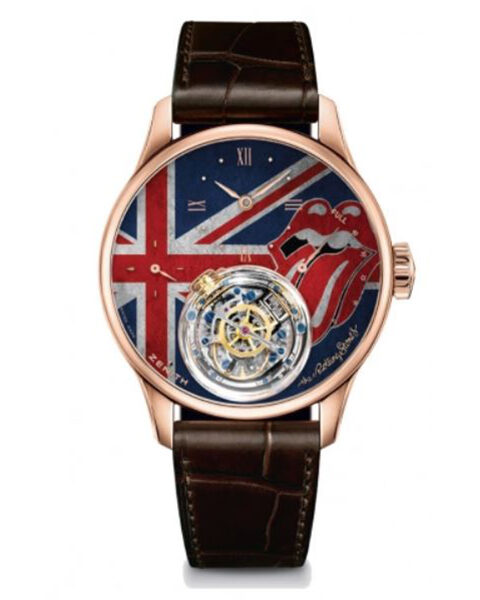 ZENITH ACADEMY CHRISTOPHE COLOMB TRIBUTE TO THE ROLLING STONES REF. 18.2213.8804/55.C713