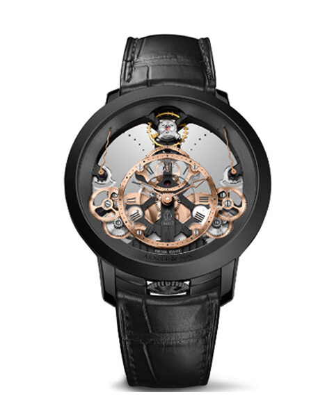 ARNOLD & SON TIME PYRAMID BLACK EDITION MEN'S WATCH REF. 1TPBS.R01A.C124B