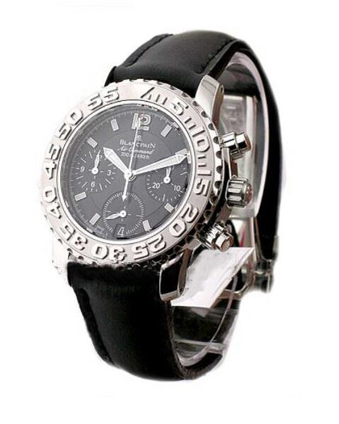 BLANCPAIN TRILOGY AIR COMMAND FLYBACK AUTOMATIC CHRONOGRAPH MEN'S WATCH REF. 2285F-1130-64B