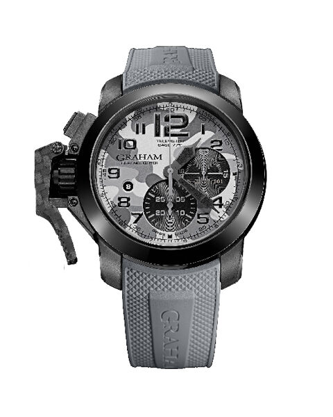 GRAHAM CHRONOFIGHTER OVERSIZE BLACK ARROW FARENHEIT GREY MEN'S WATCH REF. 2CCAU.S02B.K97N