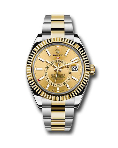 Rolex Pre-owned Sky Dweller Oyster Perpetual Men's Watch