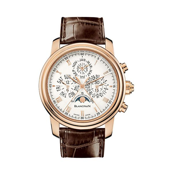 BLANCPAIN LE BRASSUS QUANTIEME PERPETUEL CHRONOGRAPH FLYBACK A RATTRAPANTE MENS WATCH REF. 4286P-3642-55B